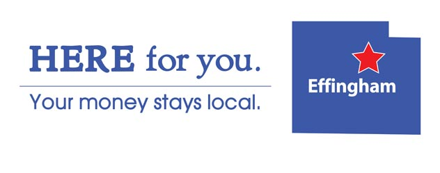 Here for you. Your money stays local.