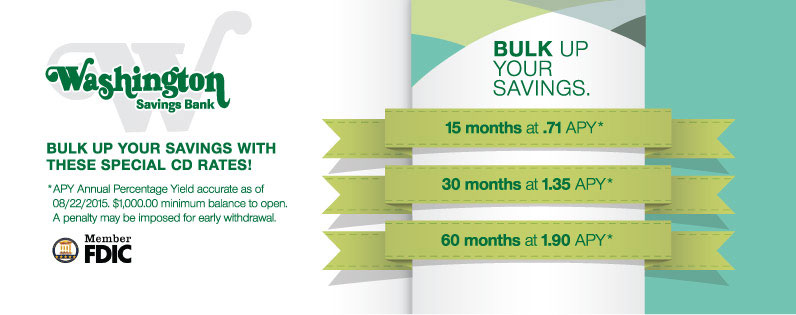Bulk up your savings with these special CD rates!