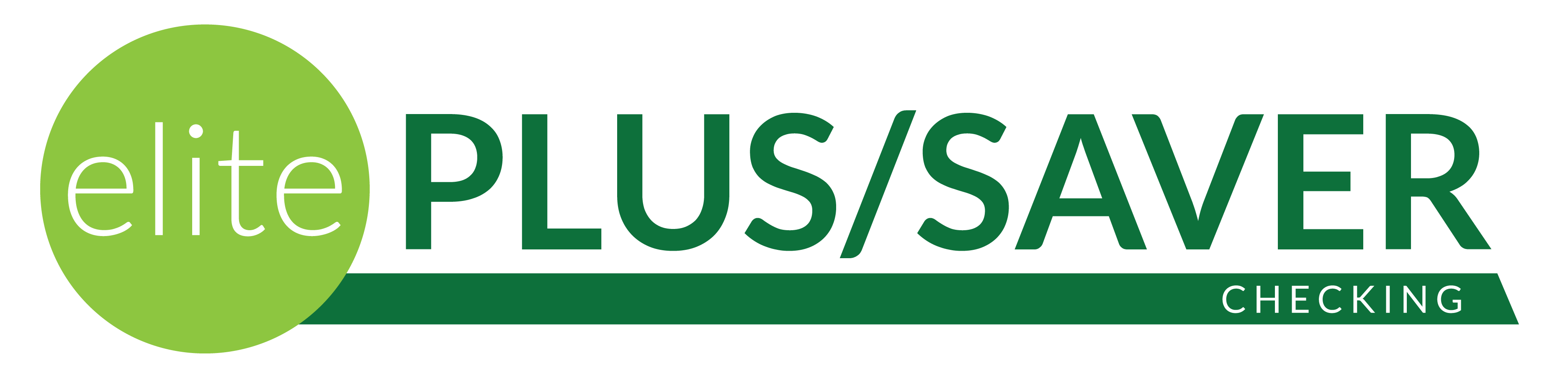 Elite Plus/Saver Checking Logo